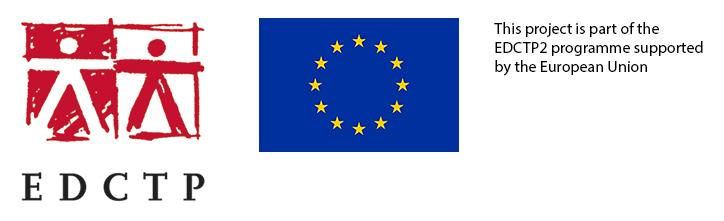 EDCTP og EU logo