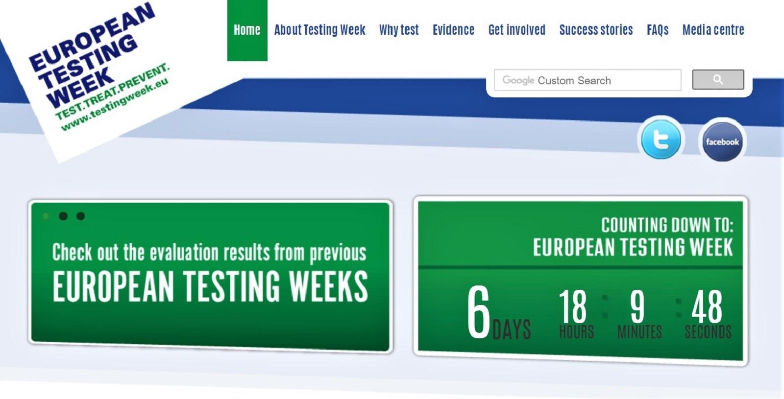 Billede af European Testing Week logo