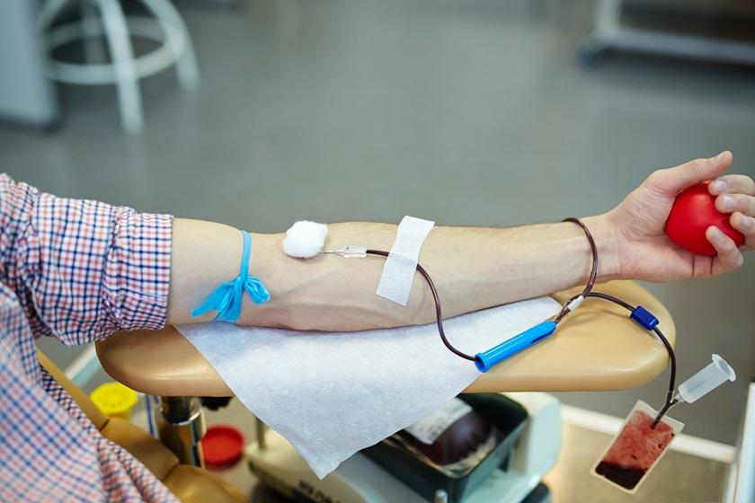 Billede af bloddonor 01