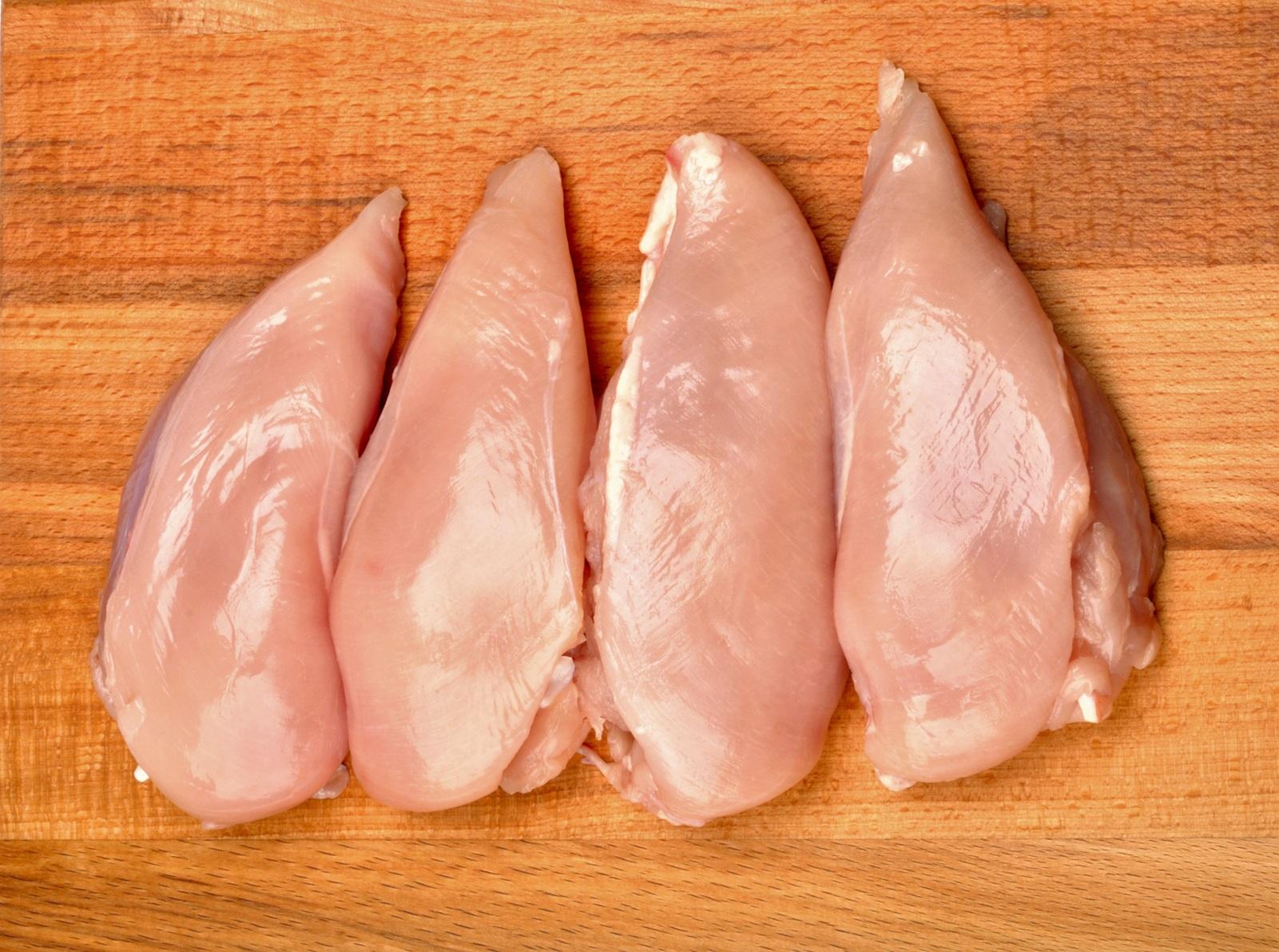 Billede af kyllingekød