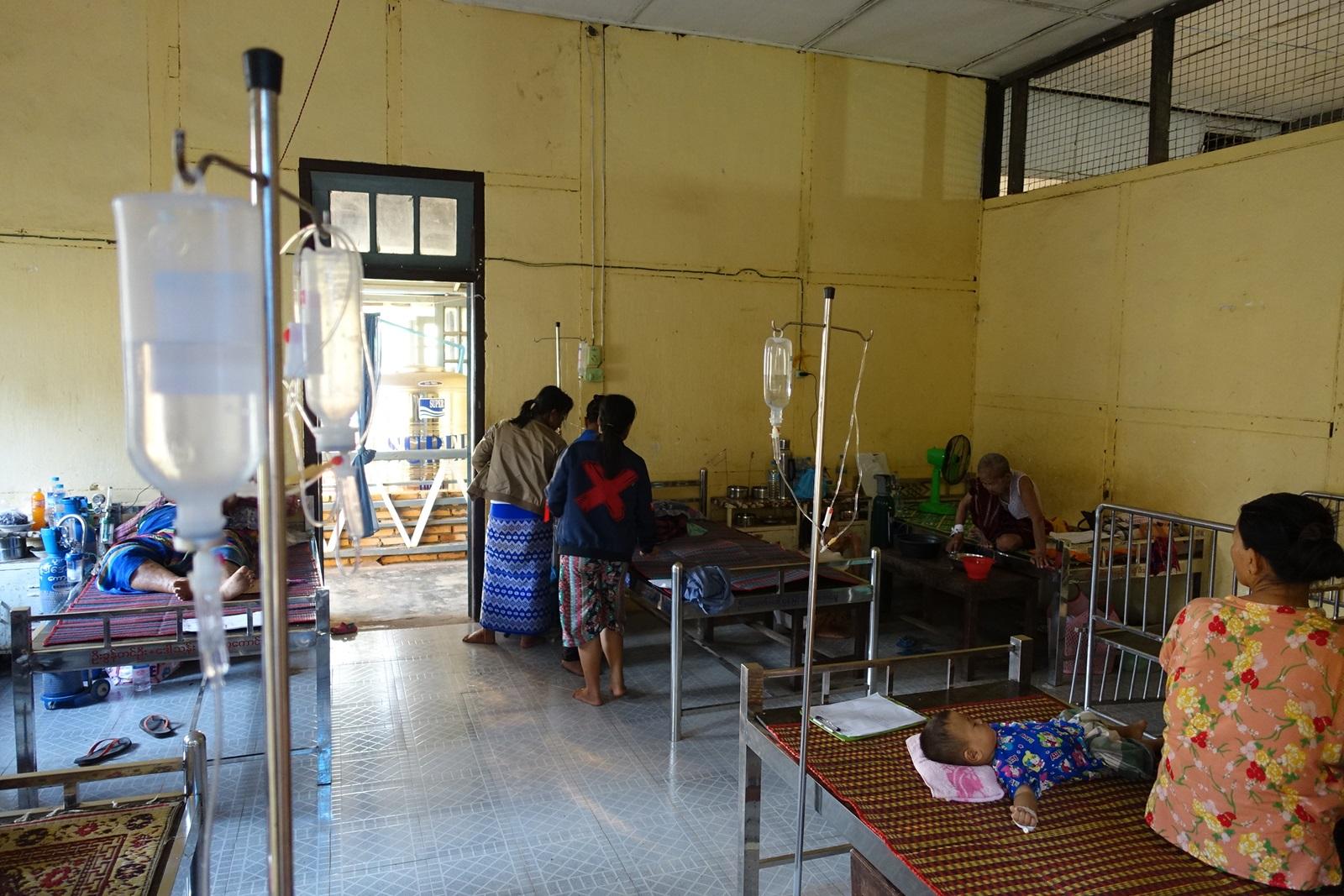 Billede fra malaria hospital 01