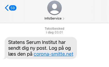 Falsk sms