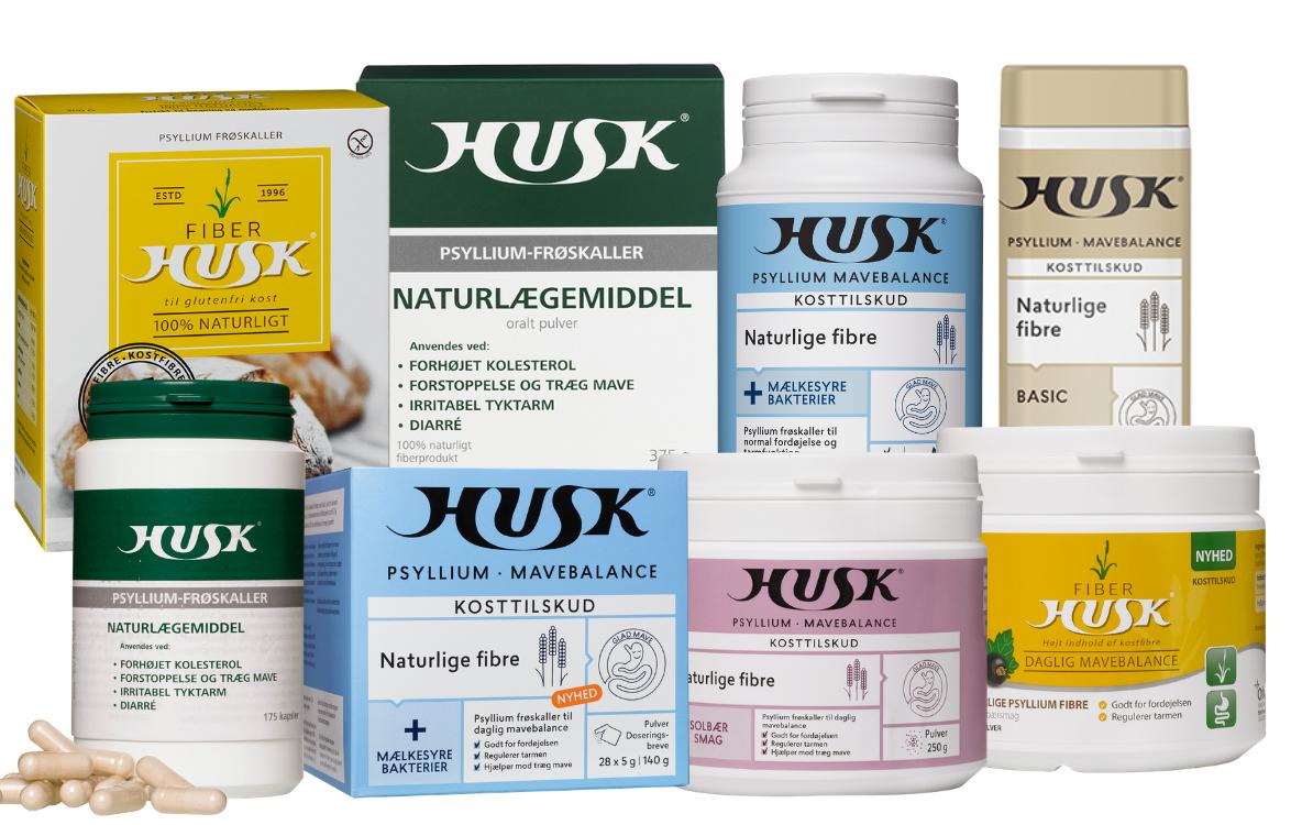 Billede af HUSK-produkter