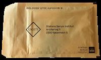 SSI boblekuvert til forsendelse af diagnostiske prøver