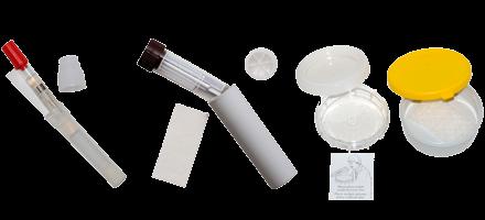 Sekundær beholder (transportrør og sputumskål)