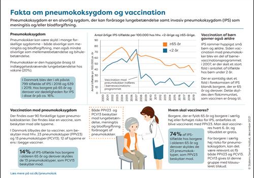 """Lille billede af infografikken """"Fakta om penumokoksygdom og vaccination"""""""