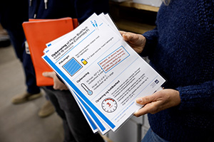 Informationsmateriale til modtagerne af vaccinen om opbevaring mv.