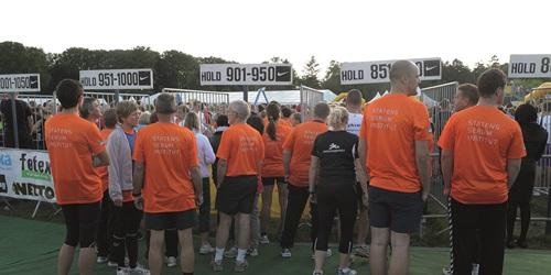 SSI medarbejdere til DHL løb