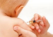 Barn bliver vaccineret
